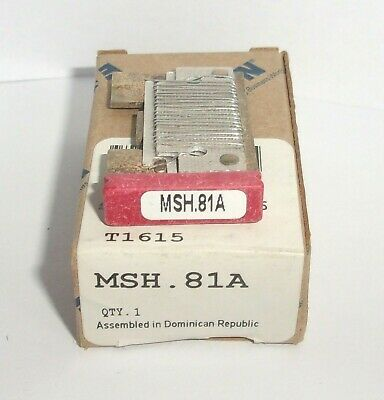 Eaton Cutler Hammer Msh.81A Thermal Heater Overload  For Ms Starter Msh81A Nib