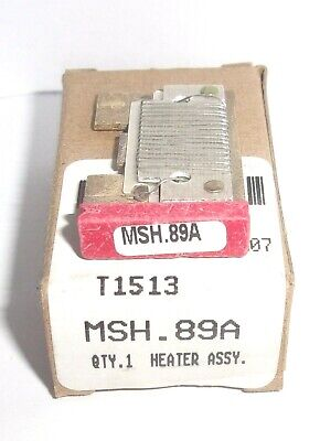 Eaton Cutler Hammer Msh.89A Thermal Heater Overload  For Ms Starter Msh89A Nib