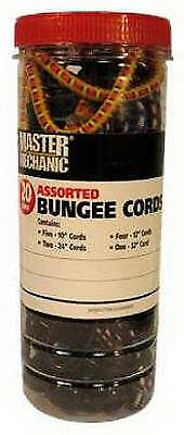 TRADE OF AMTA INC DBA BOXER TOOLS Assorted Bungee Cords, 20-Pack MM42