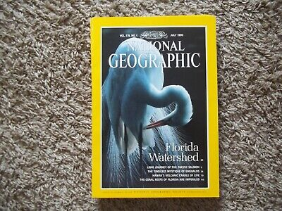 National Geographic Florida Watershed Vol. 178 No.1 July 1990