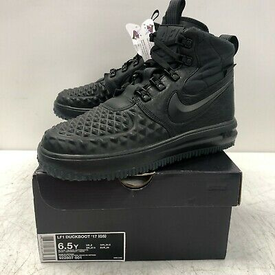 buy popular 8ec1a 42ad1 Nike Lunar Force 1 Duckboot  17 Black Anthracite 922807-001 GS Size 6.5Y