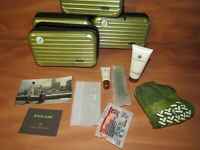 Rimowa Eva Air Amenity Kit Green. New Other. Complete. FAST FREE SHIPPING.