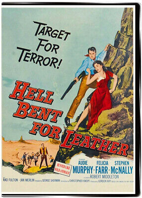Hell Bent for Leather 1960 DVD Audie Murphy, Felicia Farr, Stephen McNally