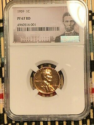 1959  Lincoln 1c, NGC Certified PF 67 RD