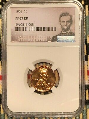 1961  Lincoln 1c, NGC Certified PF 67 RD