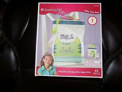 2013 AMERICAN GIRL DOLL CRAFTS Kitty Tote Bag NEW