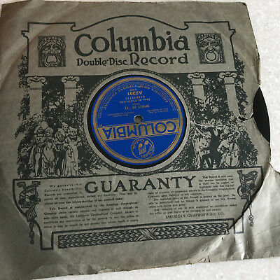 78 rpm record SPIRIT Of '17  Hello Soldier Boy CLARK BURR COLUMBIA Early Sleeve