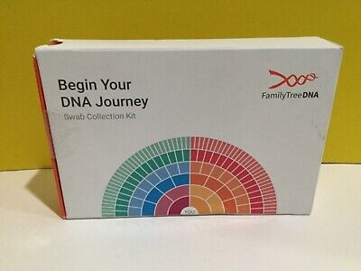 Family Tree DNA Swab Collection Kit Read Description Please