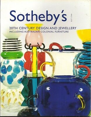 SOTHEBY'S 20c Design Italian Glass Australian Featherston Colonial Furniture Cat