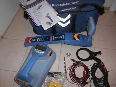 Radiodetection Rd 7100 Dl  Wand And Tx 5 Transmitter Pipe And Cable Locator