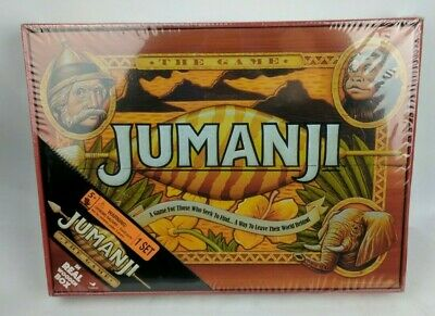 Jumanji The Game In Real Wooden Box