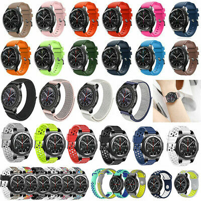 Nylon / Silicone Watch Band Bracelet Strap For Samsung Gear S3 Frontier Classic