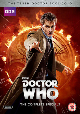 Doctor Who: The Complete Specials Collection DVD (2014) David Tennant, Strong