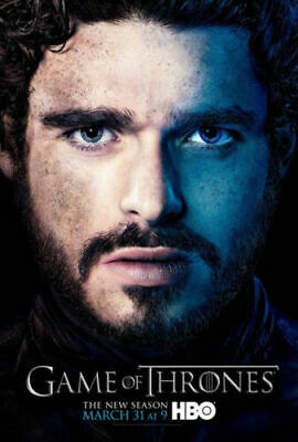 Game Of Thrones GOT Robb Stark Poster