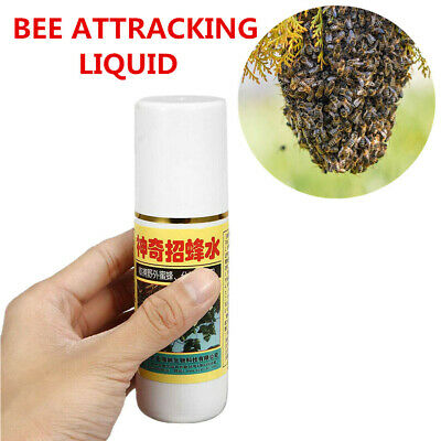 Swarm Commander Lure Bait Honey Bee Attractant Hive Beekeeping Attracting Liquid