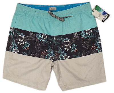 faca3868db Elastic Waist Board Shorts Men's (XL) Floral Trinity Collective swim trunks -NWT