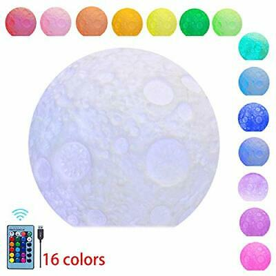 Large Sensory Moon Light with Remote - Color Changing Mood Lamp by Playlearn