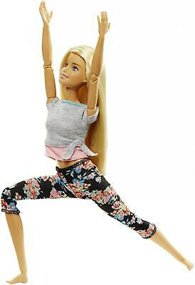 Barbie FTG82 Made to Move Doll, Multi-Colour