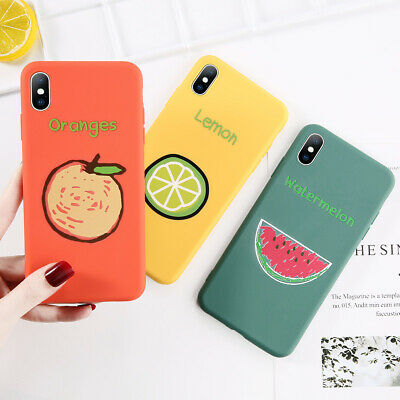 Cute Pattern Slim Soft Silicone Rubber Case Cover For iPhone XS Max XR X 8 7 6s