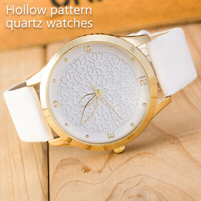 7874 Hollowed-Out Quartz Watch Woman Lady Pointer Round Watch Wristwatches