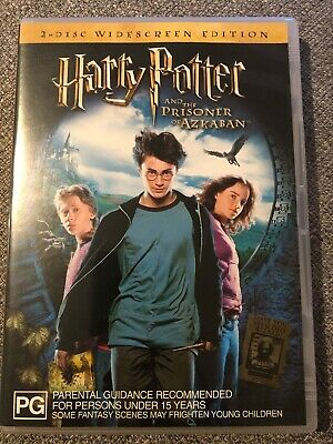 Harry Potter And The Prisoner Of Azkaban DVD - 2 Disc Widescreen Edition
