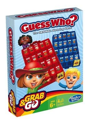 Guess Who Grab and Go Game - Travel Size NEW