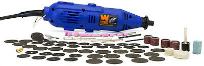 100 PIECE Accessories WEN Set Variable Speed Rotary Cutter Tool Kit Grinder