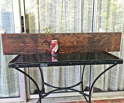 Antique Pine TABLE LEAF 42X7 reclaimed salvage furniture repair board lumber