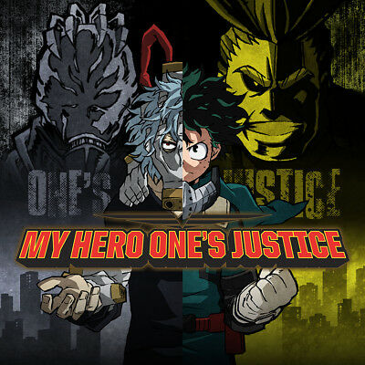 Official PSN PS4 console THEME for My Hero Academia Ones Justice Playstation 4