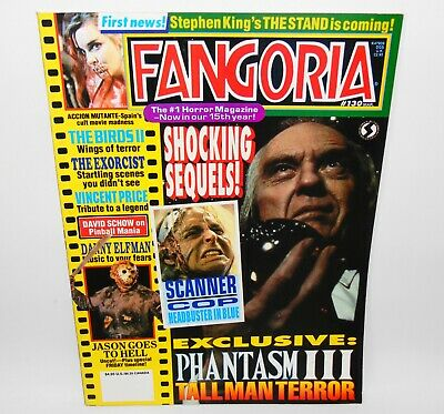 Fangoria #130 Horror Magazine 1994 The Exorcist The Stand Phantasm III
