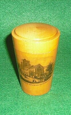 Mauchline Shot Tot Glass Holder & Glass - St Mary's Church Eastbourne