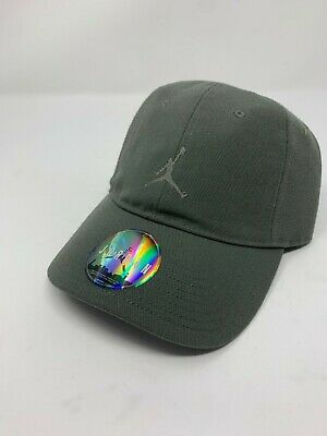 a3a0dbb1df6a NIKE AIR JORDAN JUMPMAN HERITAGE 86 ADJUSTABLE HAT 847143 018 River Rock  Sage