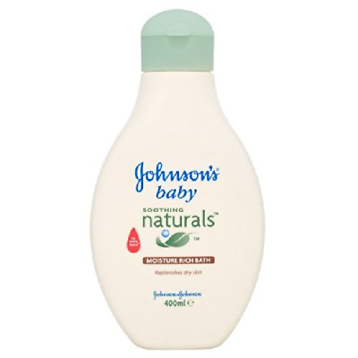 Johnson's Baby Moisture Rich Bath 400ml