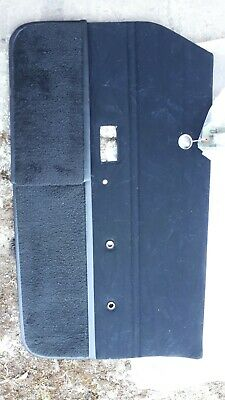 Ford Cortina Mk4 Front Drivers O/S Door Card Trim Ghia. Genuine. New old stock.
