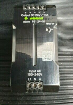 Weidland Wipos Ps1 24-10 81.000.6540.0 Switching Power Supply (In27S2)