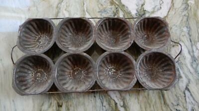 8 CUP – Antique/Vintage Metal Muffin Pan **Special** (MP20191)