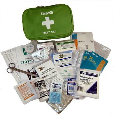 Uneedit First Aid Kit Medium Soft Case For Vehicles V+ - Car / Home / Office