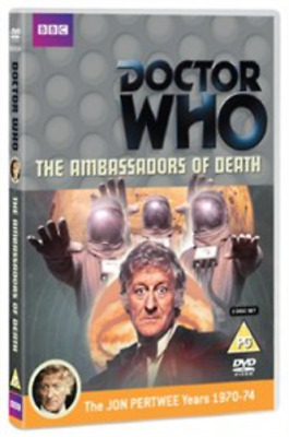 Jon Pertwee, Ronald Allen-Doctor Who: The Ambassadors of Death DVD NEW