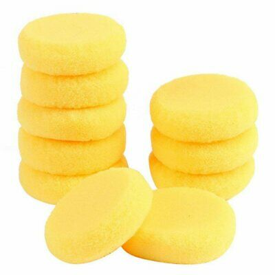 10pcs Round Synthetic Artist Paint Sponge Craft Sponges for Painting Pottery 9V8