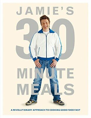 (Very Good)0718154770 Jamie's 30-Minute Meals: A Revolutionary Approach to Cooki