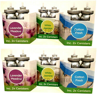 4 x Glade Sense and Spray Compatible Refills Air Freshener Scent Canister Refill