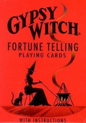 NEW Gypsy Witch Fortune Telling Cards By Games Us Card or Card Deck