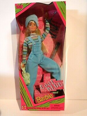 New Cool Blue Barbie - 1997- Mnrfb