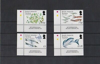 British Antarctic Territory 2014 Food Chain set  MNH per scan