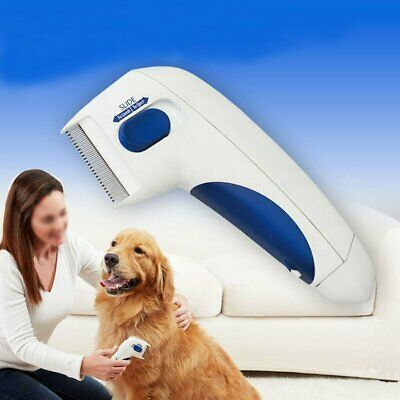 Flea Doctor Electric Flea Comb-Great for Dogs & Cats Pet Brush Useful US Ship