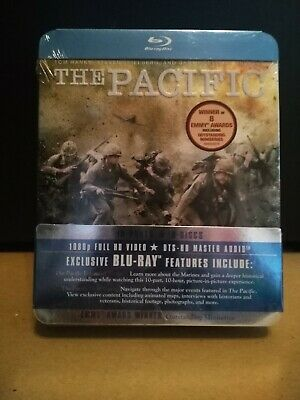 The Pacific - The Complete Series Blu-ray HBO Miniseries Tin