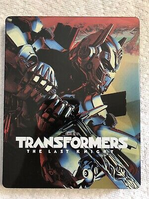 TRANSFORMERS (The Last Knight) Blu-Ray + DVD STEEL CASE NEW (Other)