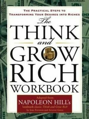 NEW The Think and Grow Rich Workbook By Napoleon Hill Paperback Free Shipping