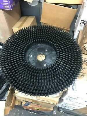 "19"" Brush Assembly Disk Round Floor Brush scrubbing rotary 2-3/16"" disc buff"