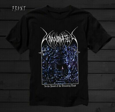 UNANIMATED-In the Forest of the Dreaming Dead, BLACK T-shirt sizes: S to 7XL